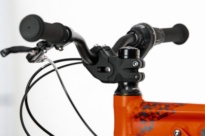 Black Mountain Bikes UP:RISE stem on the KAPEL and HUTTO