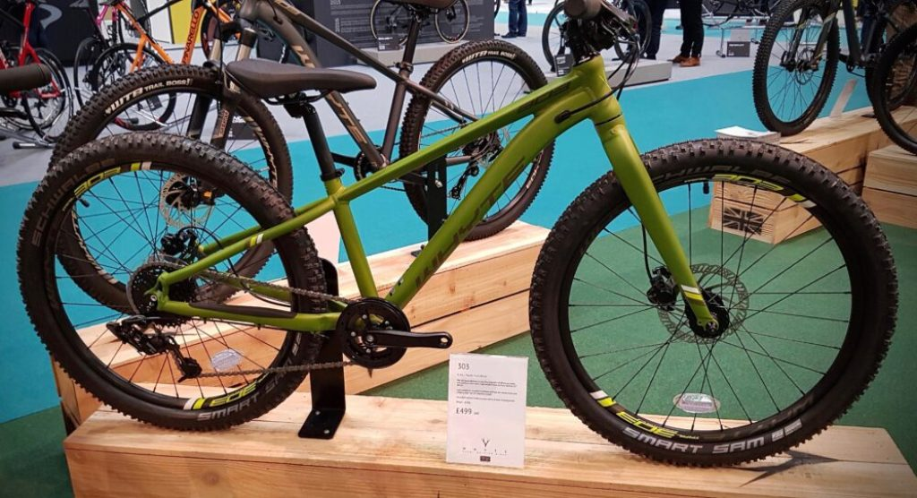 NEC Cycle Show 2019 Whyte 303 with 24 inch wheel