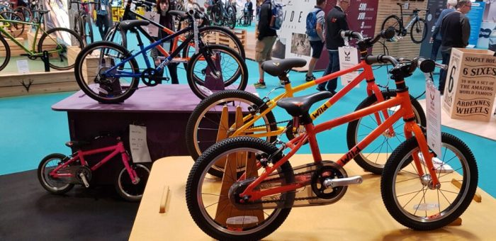 Wild Bikes kids bikes at the 2019 Cycle Show