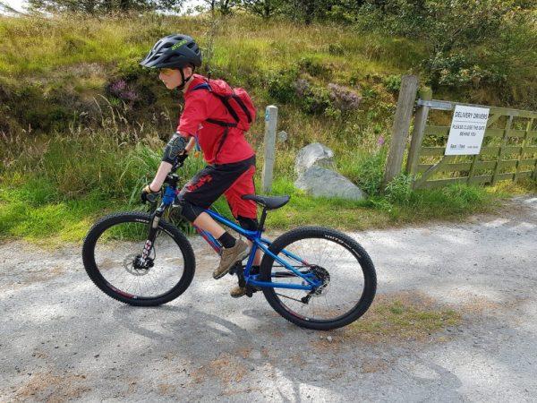 ShredXS children's mountain biking shorts