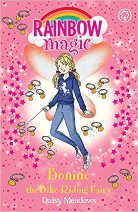Bonnie the Bike Riding Fairy - book for girls about riding a bike