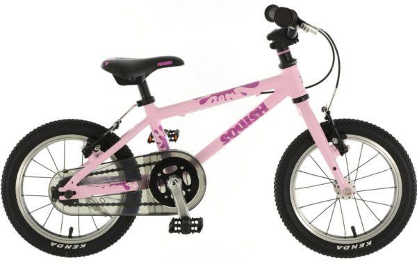 """Pink Squish 14"""" girls bike Christmas 2019"""