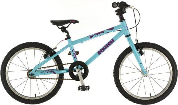 """Squish 18 Aqua - 18"""" wheel kids bike for a 5 year old"""