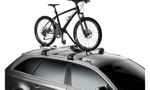 Thule roof mounted FreeRide bike carrier