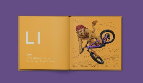 Kids Mountain Bike Book