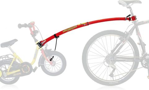 TrailGator bike tow bar to pull a child behind your bike