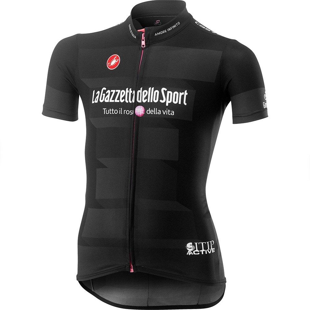 Kids sized Giro d'Italia black jersey