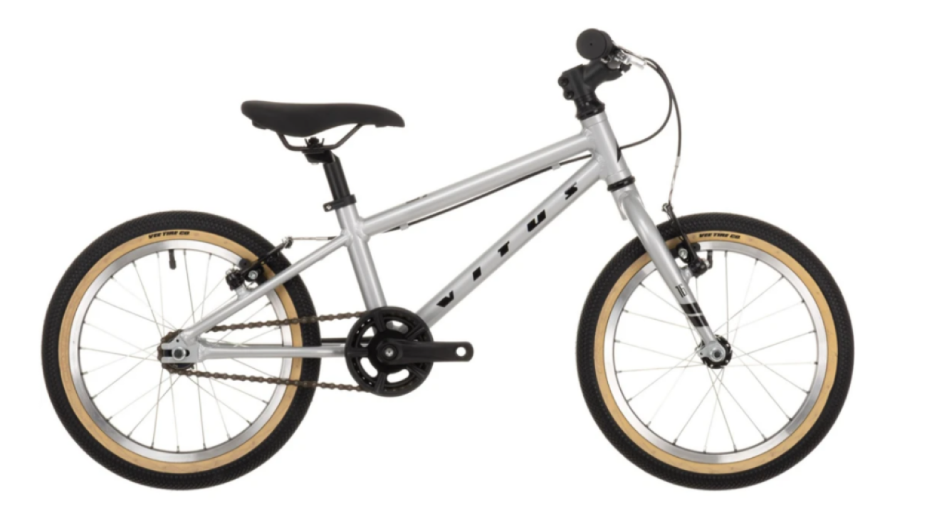 Vitus 16 kids bike - a great value bike for a 4 year old