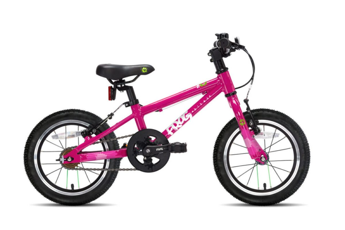 "Frog 40 - quality 14"" wheel kids starter bike"
