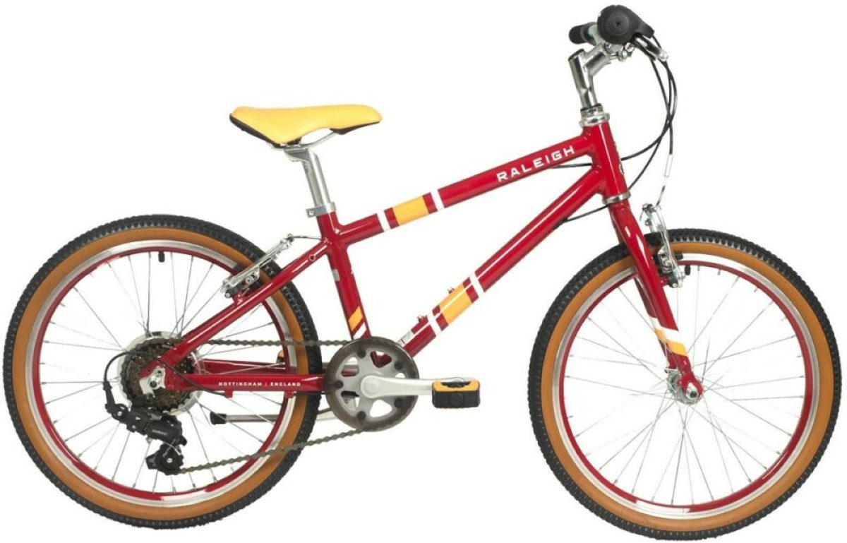 Raleigh Pop 20 - a budget good value kids bike with gears