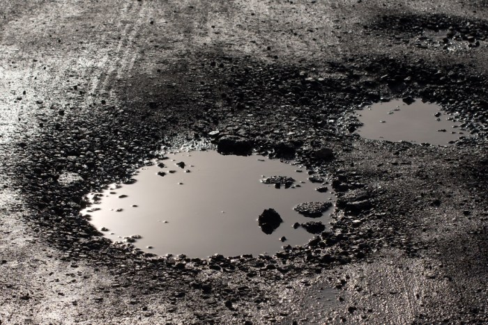 How to report a pothole on your school run