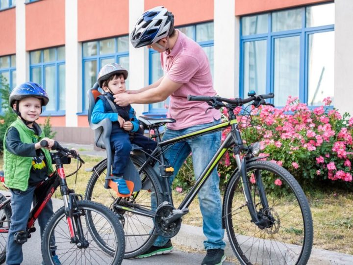 Getting ready for your first family bike ride of the year