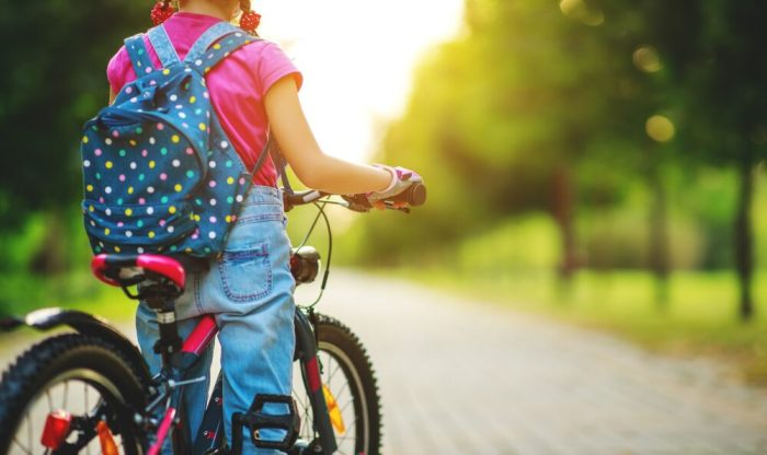 How to check your kids bike is the correct size - standover height