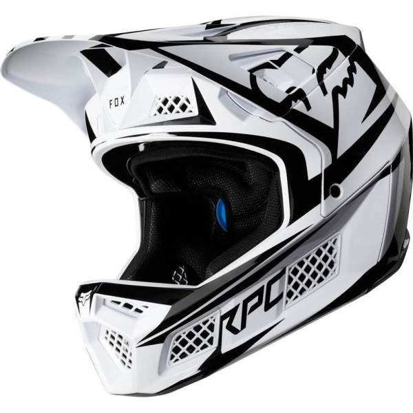 Fox Rampage Pro Carbon Beast Helm White