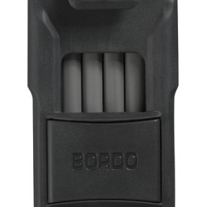 ABUS Bordo Faltschloss 6100/90 black