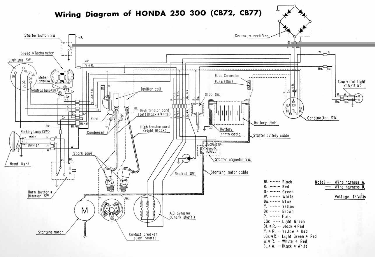 00 Civic Wire Harnes Diagram