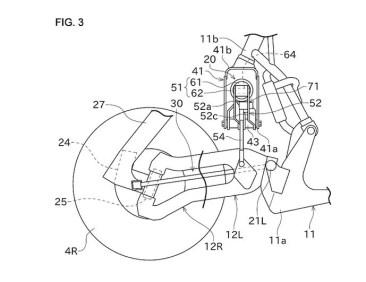 Kawasaki Concept J Trike suspension