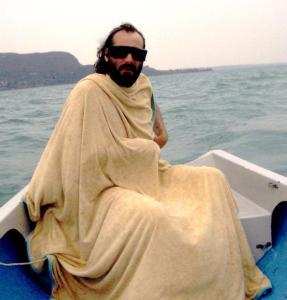 Ahh, Sebastien. Only you could make impersonating Jesus look so effortless.