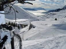 Colombiere in winter