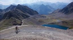Above Lac d'Oncet