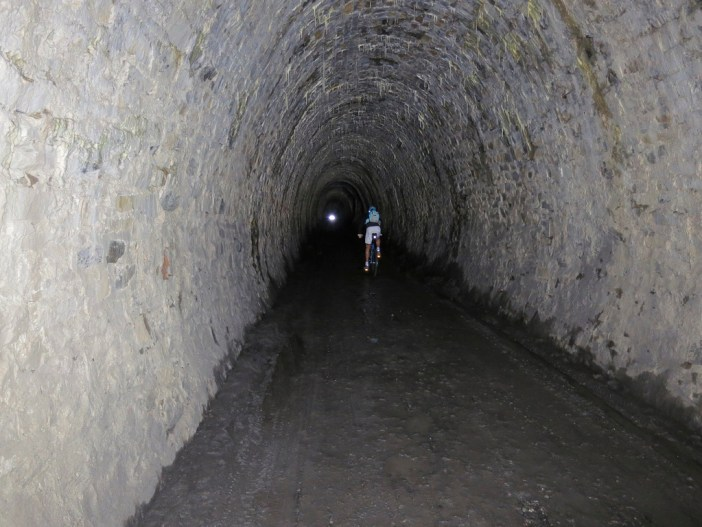 1900 metres of ascent to reach the tunnel!