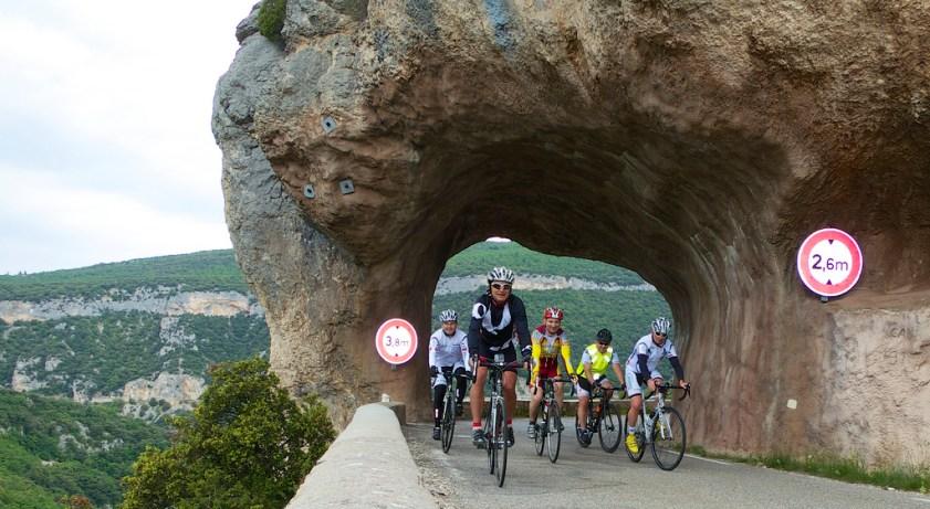 Gorges de la Nesque with the boys from St.Etienne