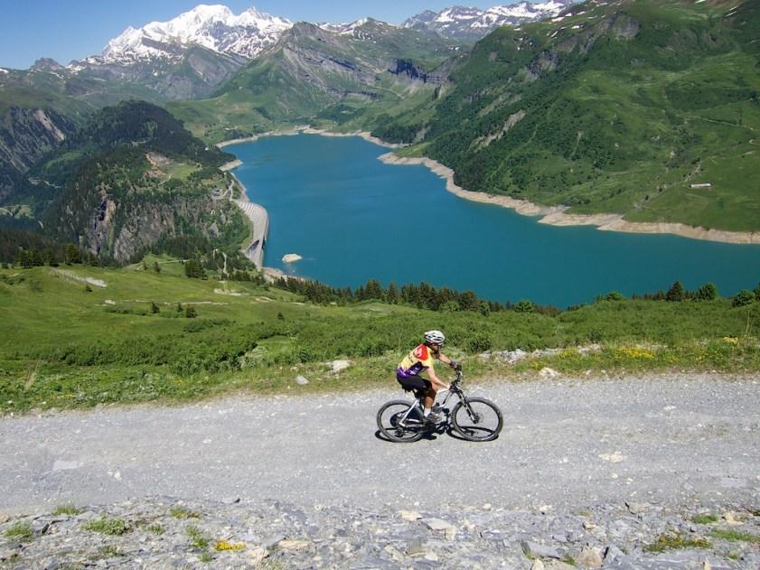 Above Col du Pré.  Great unpaved road to Passage de la Charmette