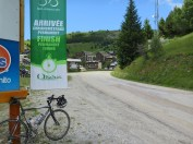 Signed Cycling Finish at Auris