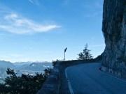 Cliff road - dark