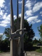 Strange Statue at Col