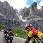 Philippe and some dolomites