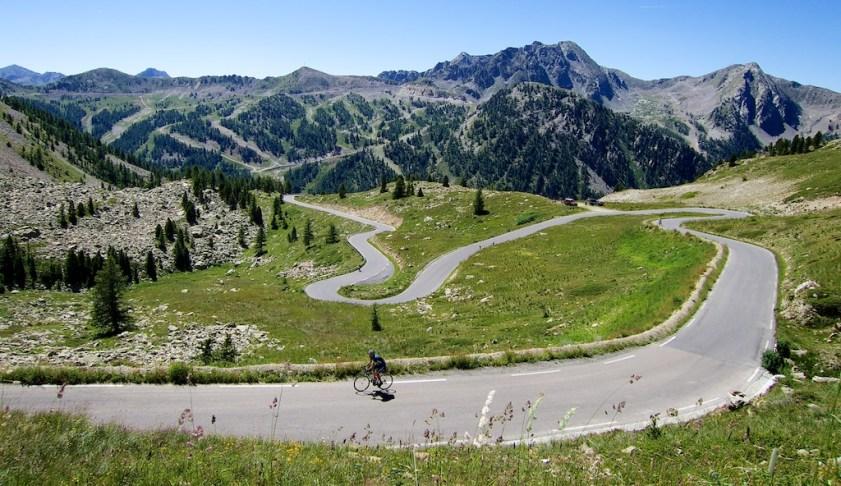 French side of Colle della Lombarda