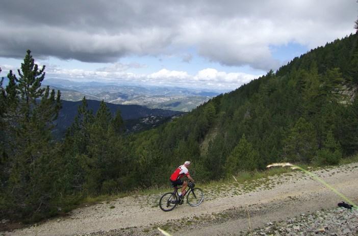 approaching Mont Serein