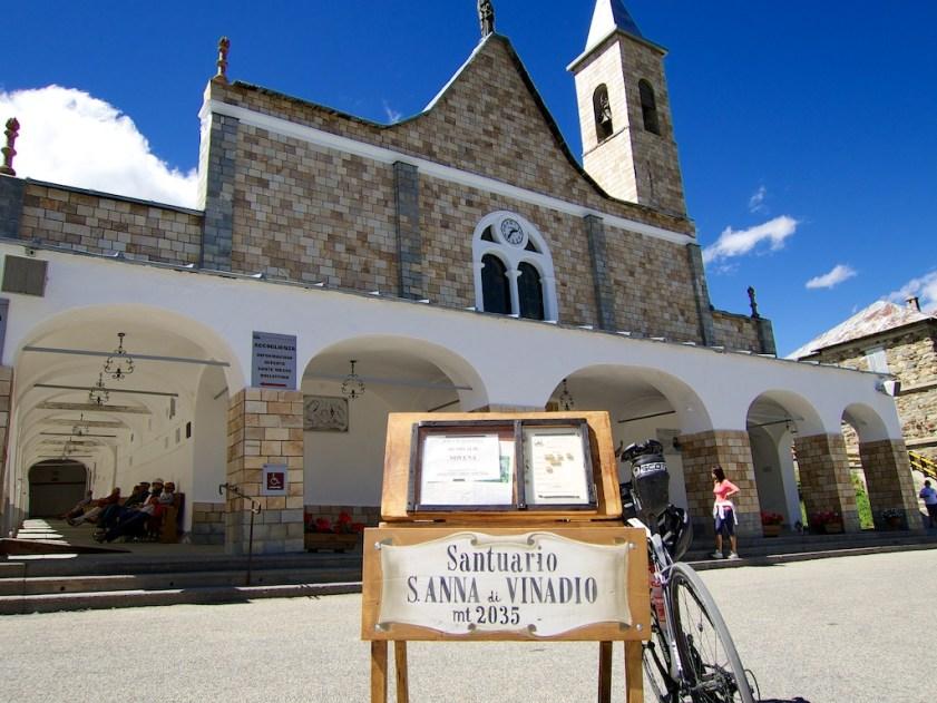 Highest Santuario in Europe
