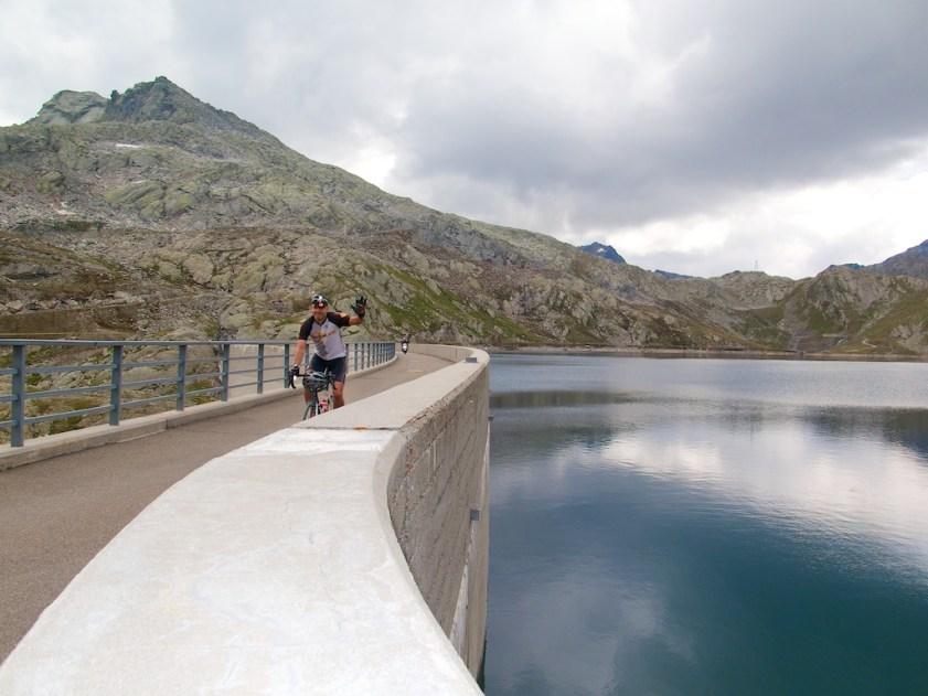On the dam
