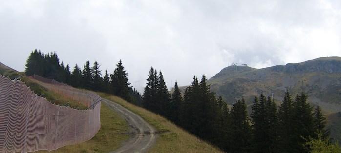 First peak in distance