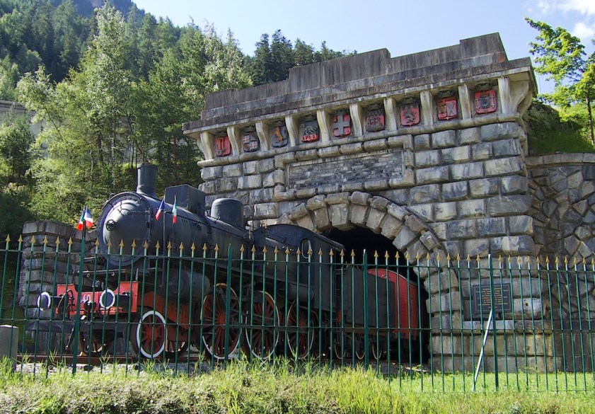 Fréjus Tunnel museum, near old tunnel exit on French side.