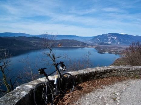 Lac di Bourget from Col de la Chambotte