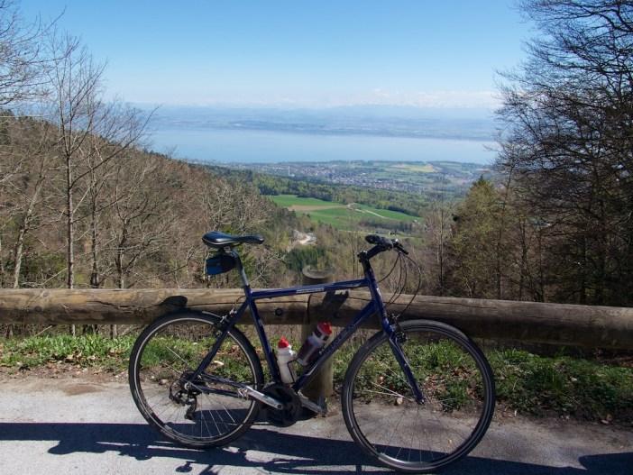 View from Col de la Tourne