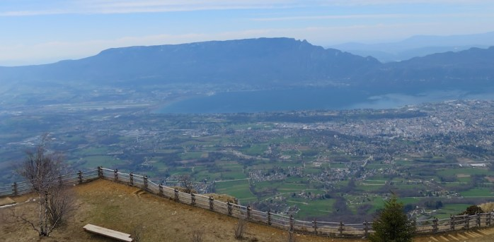 Lac du Bourget and Mont du Chat