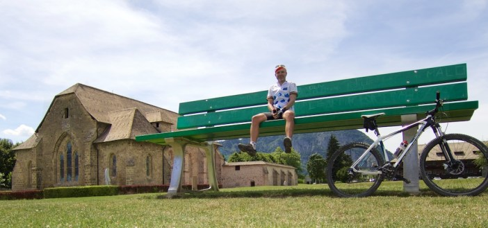 13th century monastery and a great chair