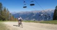Under Sportinia Ski Lift