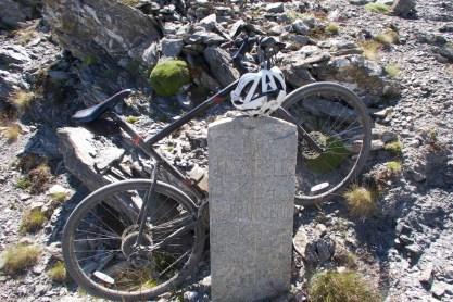 old kilometre marker