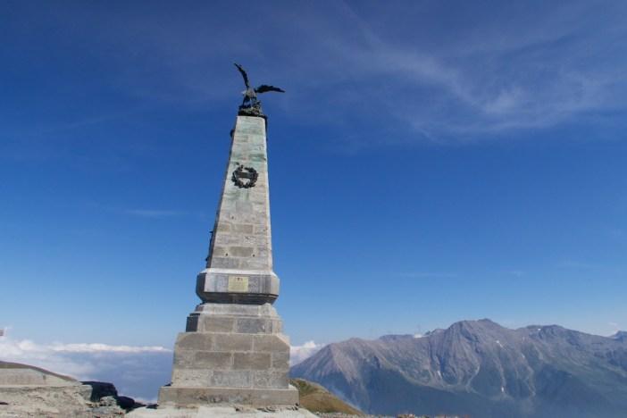 Monument atop Testa dell'Assietta