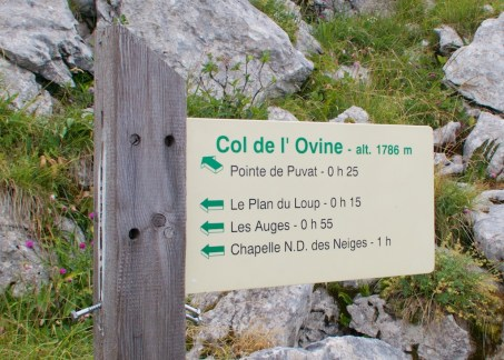 Col de l'Ovine