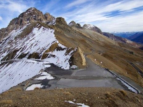 Galibier summit: north/south sides