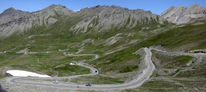 French side of Col Agnel / Colle dell'Agnello