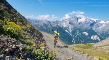 Heading to Col de Buffere - 2427 metres