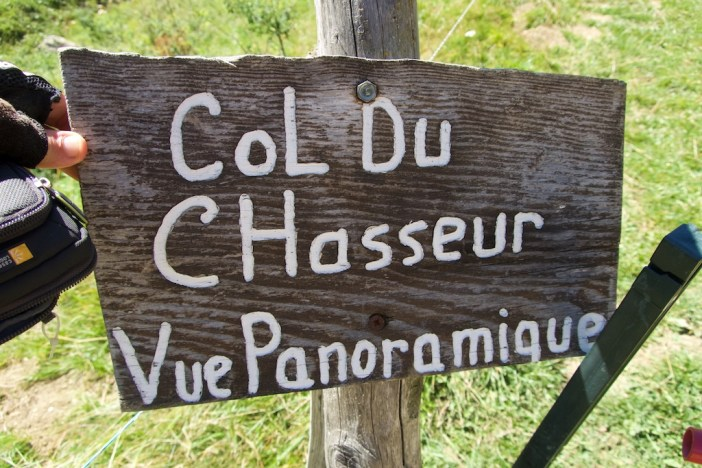 actual name is Col des Chasseurs
