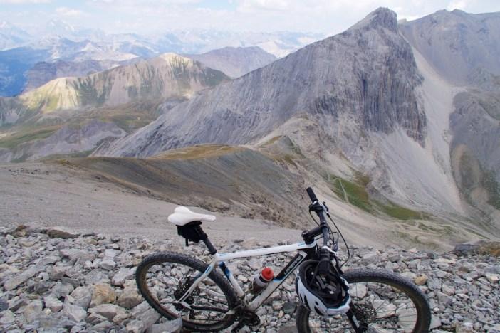 Col du Chaberton below